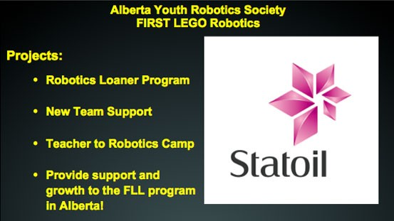 Alberta Youth Robotics Society – FIRST LEGO Robotics
