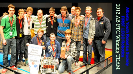2012 AB FTC Winning Team
