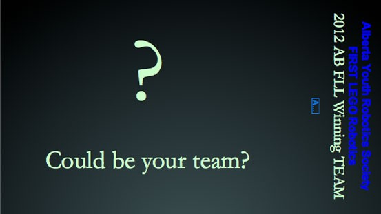 Could be your team